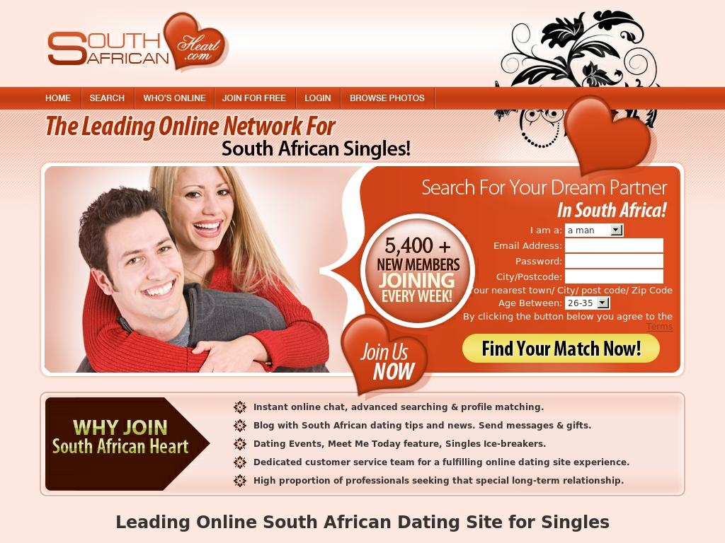 south african dating rooms